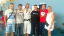 Con amigos de Oviedo